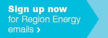 Sign up for Region Energy emails