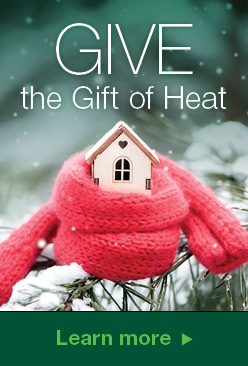 Region give the gift of heat